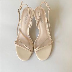 Jeffrey Campbell - Nude strappy heels